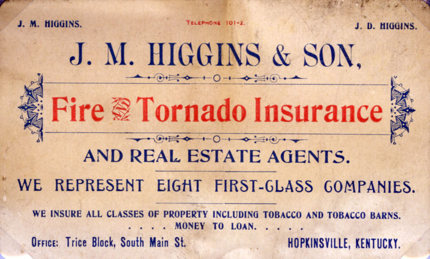 Insurance Card - Higgins & Sons